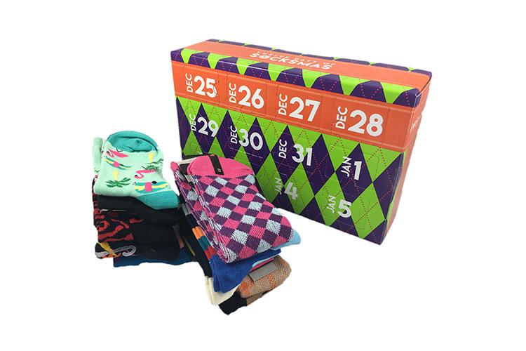 12 Days Of Christmas Socks.Twelve Days Of Socksmas From Sockbox Ca