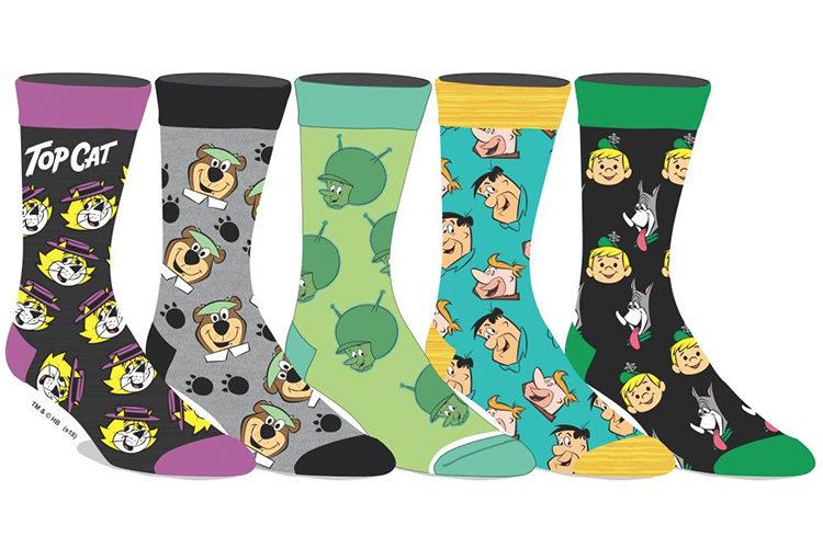 181859ff4014 Men's 5 Pack Hanna Barbera socks - sockbox.ca