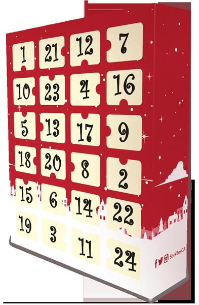 sock advent calendar 2019