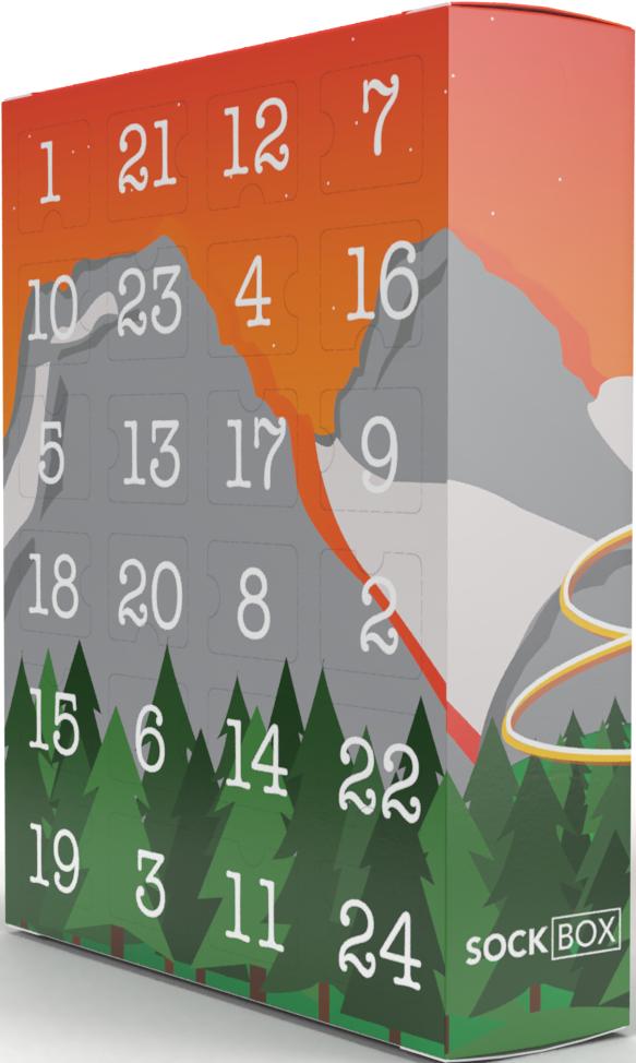 2020 Sock Lovers Advent Calendar™